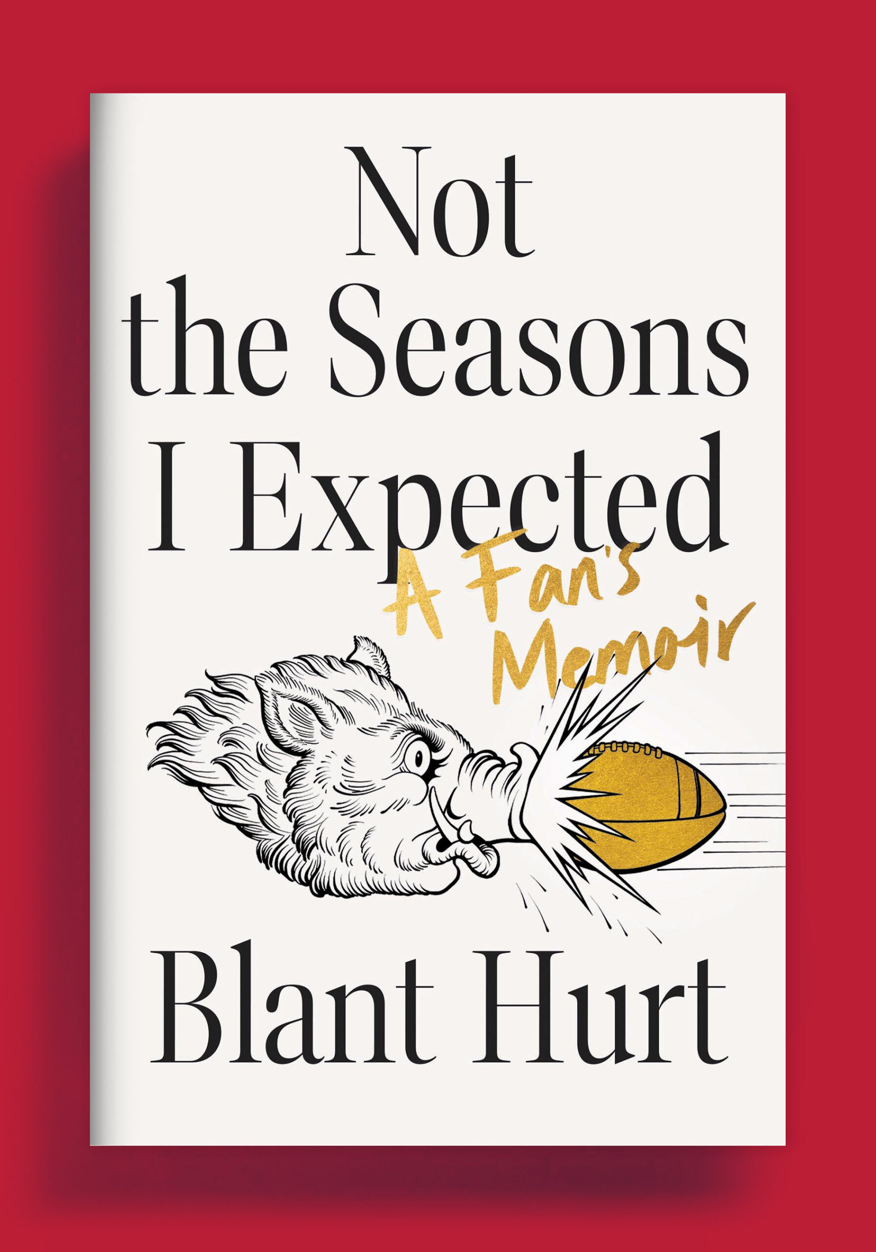 Not the Seasons I Expected by Blant Hurt cover image